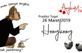 Prediksi Togel Hongkong Terjitu 26 Maret 2019