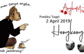 Prediksi Togel Hongkong Pasti Jitu 2 April 2019