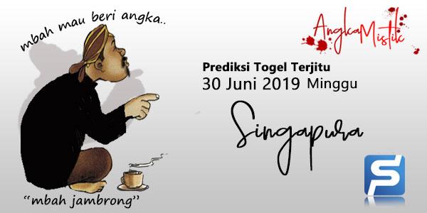 Prediksi Togel SGP Mbah Jambrong 30 Juni 2019 Jitu
