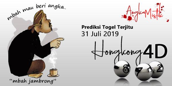 Prediksi Togel Hongkong Jitu Mbah Jambrong 31 Juli 2019