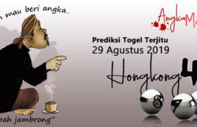 Prediksi Togel Hongkong Mbah Jambrong 29 Agustus 2019