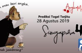 Prediksi Togel Singapura Mbah Jambrong 28 Agustus 2019