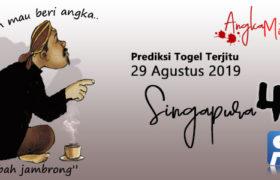 Prediksi Togel Singapura Mbah Jambrong 29 Agustus 2019