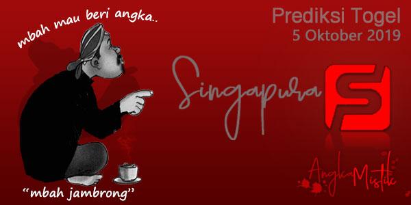 Prediksi Togel Singapura Mbah Jambrong 5 Oktober 2019