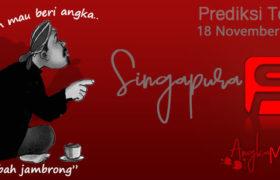 Prediksi Togel Singapura Mbah Jambrong 18 Nov 2019