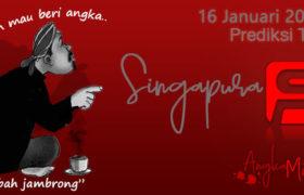 Prediksi Togel Singapura Mbah Jambrong 16 Januari 2020