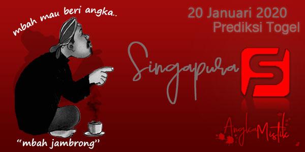 Prediksi Togel Singapura Mbah Jambrong 20 Januari 2020