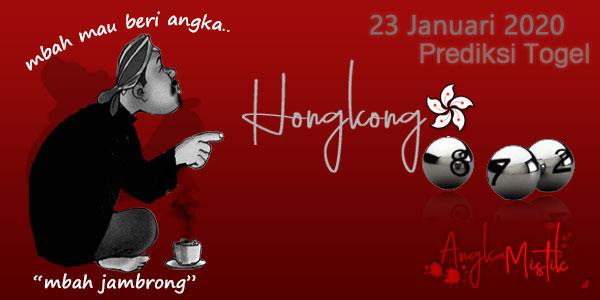 Prediksi Togel Hongkong Mbah Jambrong 23 Januari 2020