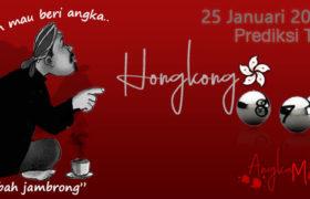 Prediksi Togel Hongkong Mbah Jambrong 25 Januari 2020