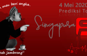 Prediksi Togel Singapura Mbah Jambrong 4 Mei 2020