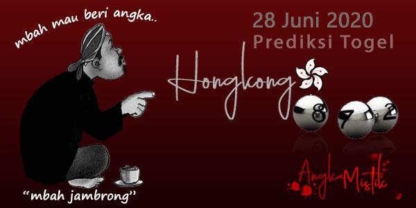 Prediksi Togel Hongkong Mbah Jambrong 28 Juni 2020