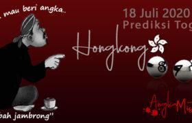 Prediksi Togel Hongkong Mbah Jambrong 18 Juli 2020