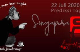 Prediksi Togel Singapura Mbah Jambrong 22 Juli 2020