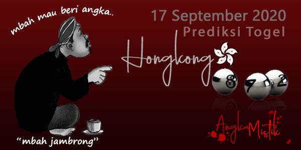 Prediksi Togel Hongkong Mbah Jambrong 17 Sep 2020