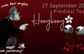 Prediksi Togel Hongkong Mbah Jambrong 27 Sep 2020