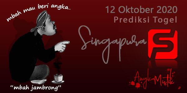 Prediksi Togel Singapura Mbah Jambrong 12 Oktober 2020