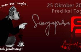 Prediksi Togel Singapura Mbah Jambrong 25 Oktober 2020