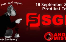 Prediksi Togel SGP Mbah Jambrong 18 Sep 2021