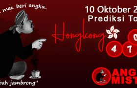 Prediksi Togel HK Mbah Jambrong 10 Oktober 2021